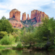 Famous Cathedral Rock — Stock Photo