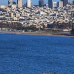 San Francisco downtown cityscape — Stock Photo