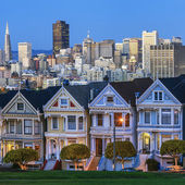 Famous view of San Francisco — Stock Photo