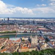 The most famous view of Lyon — Stock Photo