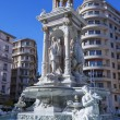 Famous fountain in Place des Jacobins — Stock Photo