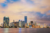 Miami Florida, summer sunset — Foto Stock