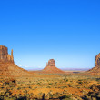 Stock Photo: Famous Monument Valley