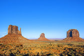 Famous Monument Valley — Stock Photo