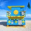 Miami Beach lifeguard house — Stock Photo