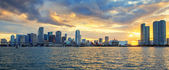 Miami, panoramic view — Foto Stock