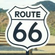 Stock Photo: Route 66 sign
