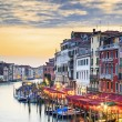 Stock Photo: View of famous Grand Canal