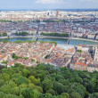 Stock Photo: Aerial view at Lyon