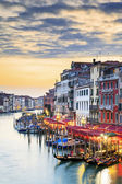 View of famous Grand Canal — Stock Photo