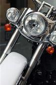 Motor fiets detail — Stockfoto