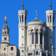 Famous Lyon Basilica — Stock Photo