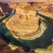 Horizontal view of famous Horseshoe Bend — Stock Photo #43433675