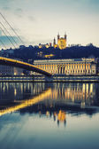 Lyon, special photographic processing — Stock Photo