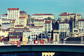 Part of the city of Lyon — Foto Stock