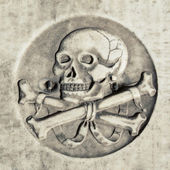 Death symbol  — Stock Photo