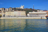Lyon in spring — Stock Photo