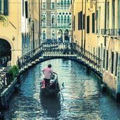 Pictorial Venetian canal — Stock Photo