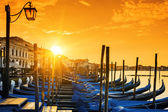 View of Venice at sunrise — Stock Photo