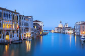 Grand Canal and Basilica Santa Maria della Salute — Stock Photo
