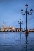 Venice under the rain — Stock Photo