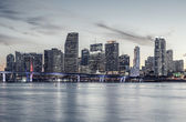 Famous cIty of Miami, special photographic processing. — Stock Photo