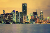CIty of Miami, summer sunset — Foto de Stock