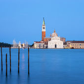 Famous Church of San Giorgio Maggiore — Stock Photo