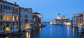 Panoramic view of the Grand Canal — Stock Photo