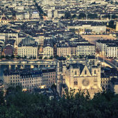 View of Lyon city — Stock Photo