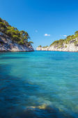 Famous calanque of Port Pin — Stock Photo
