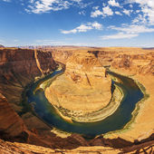 Famous Horseshoe Bend — Stock Photo