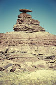 The Mexican Hat rock formation — Stock Photo