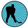 Hockey player — Stock Photo #23707419