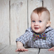 Stylish funny little boy — Stock Photo #23989271