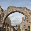 St Augustine Abbey in Canterbury - Stock Photo