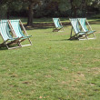 Deck chair — Stock Photo