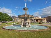 Schlossplatz (Castle square) Stuttgart — Stock Photo