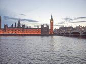 Casas do Parlamento — Fotografia Stock