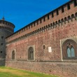 Castello Sforzesco, Milan — Stock Photo #17400769