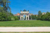 Arco della pace, milano — Foto Stock