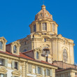 San Lorenzo church, Turin - Stock Photo