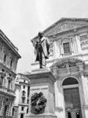 Manzoni statue, Milan — Stock Photo