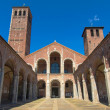 Sant Ambrogio church, Milan - Stock Photo
