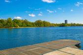 Serpentine lake, London — Stock Photo