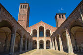 Sant Ambrogio church, Milan — Stock Photo