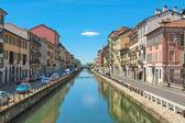 Naviglio Grande, Milan — Stock Photo