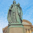 Stock Photo: Queen Victoria statue