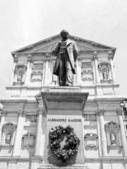 Statue de manzoni, milan — Photo