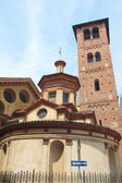 Santa Maria and Satiro church, Milan — Stock Photo